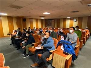 با حضور داوران متقاضی برای شرکت در کلاس های ارتقاء درجات اتحادیه جهانی 2