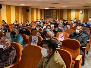 با حضور داوران متقاضی برای شرکت در کلاس های ارتقاء درجات اتحادیه جهانی 3