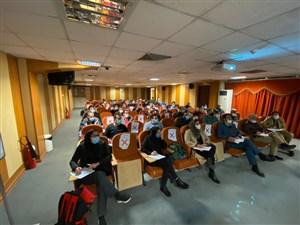 با حضور داوران متقاضی برای شرکت در کلاس های ارتقاء درجات اتحادیه جهانی 4