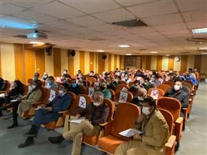 با حضور داوران متقاضی برای شرکت در کلاس های ارتقاء درجات اتحادیه جهانی 9